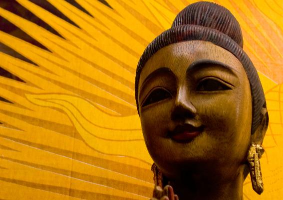 Amarelo sagrado dos hindus