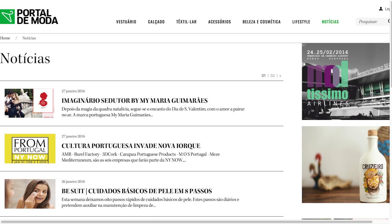 Portal de Moda notícias