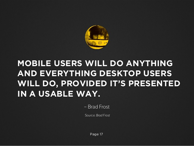 brad frost e utilizadores móveis vs desktop