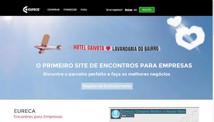 homepage da Eureca