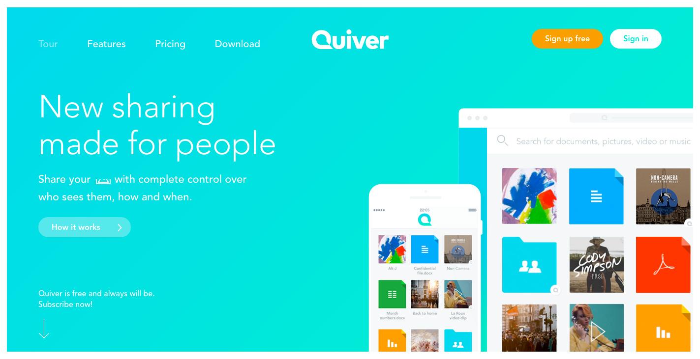 quiver screenshot