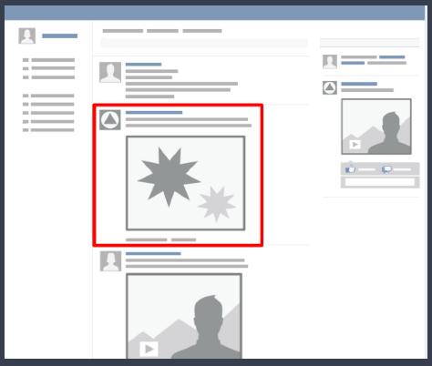 facebook anúncio desktop feed notícias