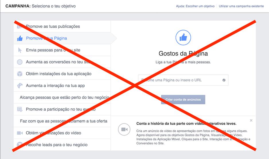 não comprar gostos no facebook