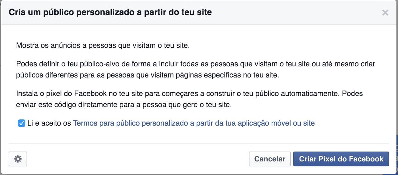 pixel personalizado facebook